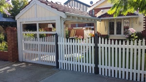 Custom Design Picket Fence
