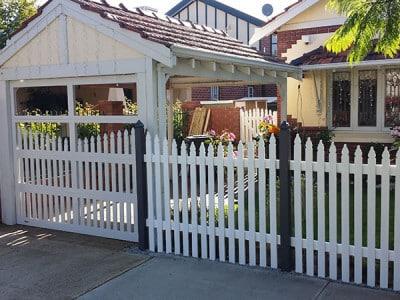 Custom Design Picket Fence