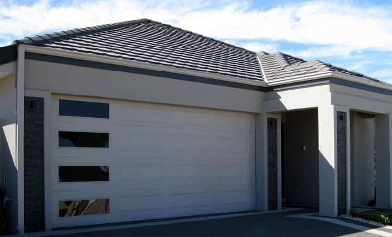 panel garage doors in Melbourne