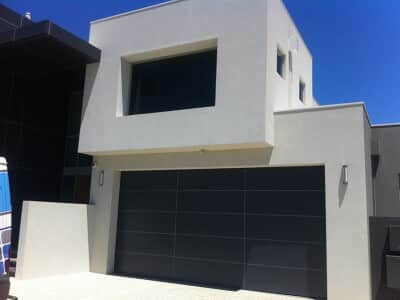 Composite Panel Face Fit Black Rebate