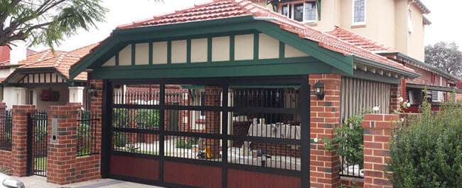 Custom garage doors in Dandenong