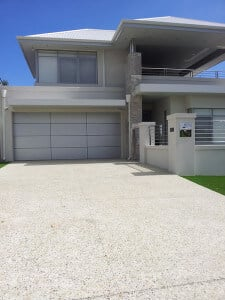 Cranbourne panel garage doors