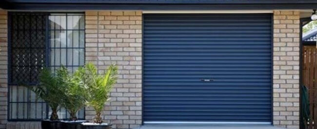 painting a garage roller door